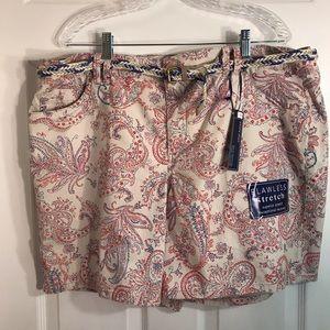NWT Bandolino Amalia shorts size 18W/plus size
